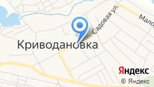 Кудряшовское на карте