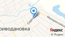 Кри-Мар, МУП на карте
