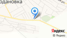 АЗС Рубеж на карте