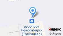 Уральские авиалинии на карте