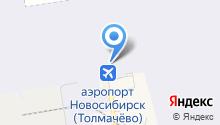 Оренбургский пуховый платок на карте