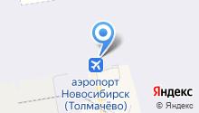 КрасАвиа на карте