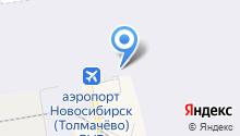 Новосибирская таможня на карте