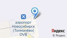 Управление Федерального казначейства по Новосибирской области на карте