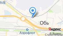 ЗАГС г. Оби на карте