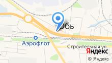 Каспий на карте