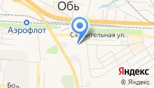 Областной сборный пункт Военного комиссариата Новосибирской области на карте