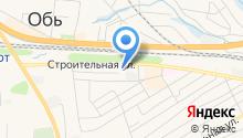 Управление вневедомственной охраны ГУ МВД России по Новосибирской области на карте