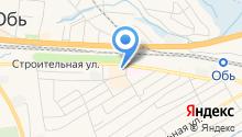 Обская местная организация Всероссийского общества инвалидов на карте
