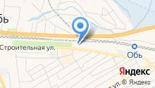 Автостоянка в Толмачево на карте