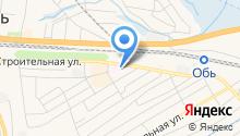 Обская центральная городская больница на карте