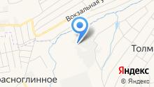 Мартин-Сибирь на карте