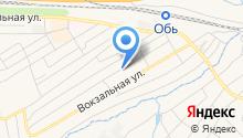 Новосибирские городские электрические сети на карте