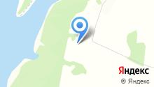 Солнечная Поляна на карте