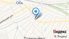 ДЕЗ по ЖКХ Толмачевского сельсовета на карте