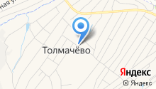 Продуктовый магазин на ул. Титова на карте