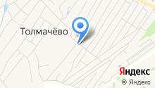 Продуктовый магазин на Новой на карте