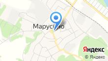 Марусинская сельская библиотека на карте