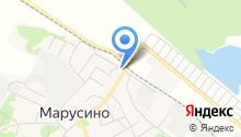 Автосервис на ул. Максима Горького на карте