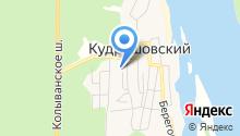 Кудряшовский на карте