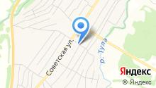 Сибирский уголок на карте