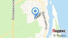 Новосибирский лесхоз на карте