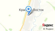 АЗС на Советской на карте