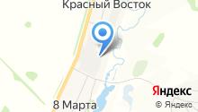 АзимутТранс-Сиб на карте