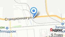 1-й межрайонный экзаменационный отдел ГИБДД на карте