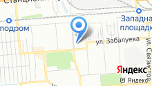 Ясница на карте