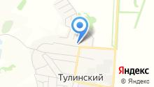 Племзавод учхоз Тулинское на карте