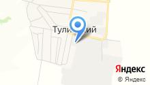 Азимут-САЖА на карте