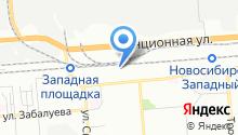 6 отряд ФПС по Новосибирской области на карте