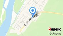 Продуктовый магазин на Шоссейной на карте