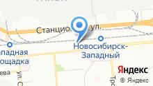 Автокомплекс Регион-Авто на карте