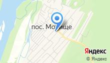 Обской на карте