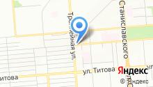 Aksstyle на карте