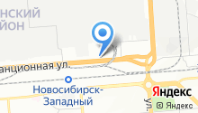 AutoCompas на карте