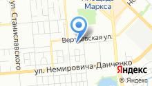 Actio на карте