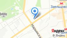 7 отряд ФПС по Новосибирской области на карте