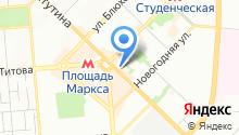 ТРЭЙС на карте
