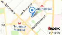 Aviva на карте