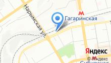 Город Принт на карте