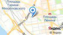 Полигон-Сибирь на карте