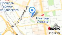 Окарина на карте