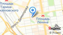 Achers на карте