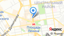 Муниципальная Новосибирская аптечная сеть на карте