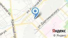 Средняя общеобразовательная школа №100 им. Ю.Г. Заплатина на карте