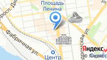 Отвес на карте