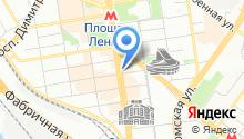 Barista на карте
